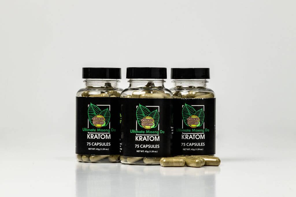 Ultimate Green Maeng Da Blend Capsules