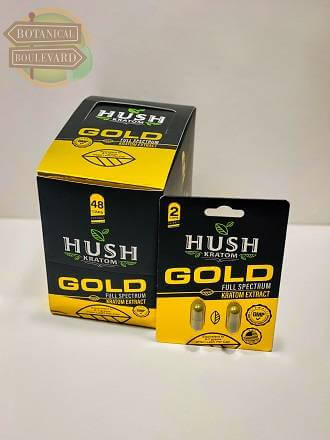 HUSH Kratom Gold Extract