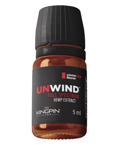 UNWIND 5 ML Full Spectrum CBD Hemp Extract